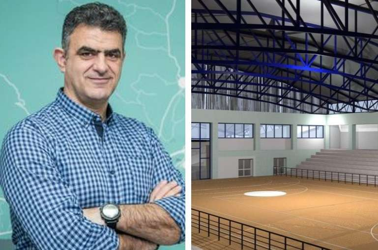 Θ. Βουρδόλης: «Το νέο κλειστό γυμναστήριο θα πληρεί όλες τις προδιαγραφές για διεθνείς αγώνες»