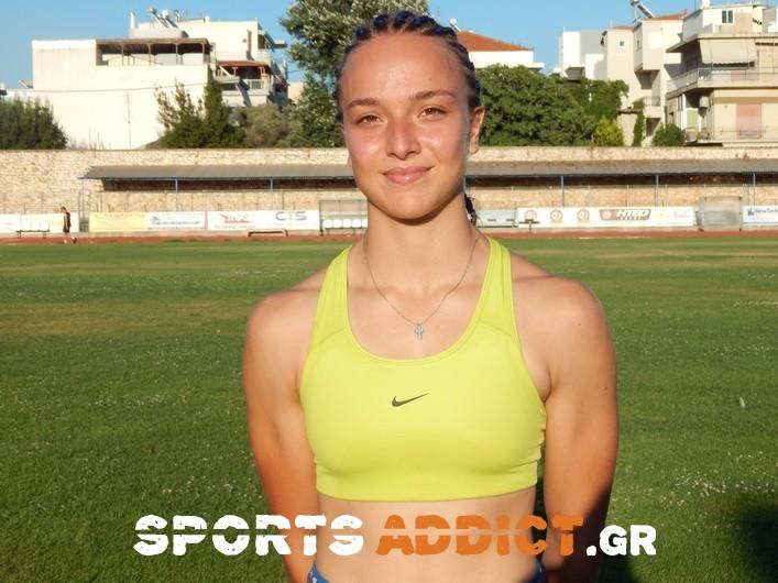 Χρυσό μετάλλιο και στην Κύπρο με νέο ρεκόρ η Αντωνιάδη!