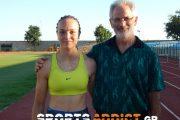 Η Νικολέτα Αντωνιάδη & ο Θανάσης Τσιτσιμάκας στο SportsAddict.gr (+video)
