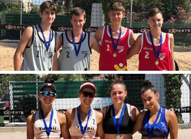 ΕΣΠΕΘΡ: Γκοτσίδης-Παπάζογλου και αδερφές Μόκαλη οι πρωταθλητές στα Κ17