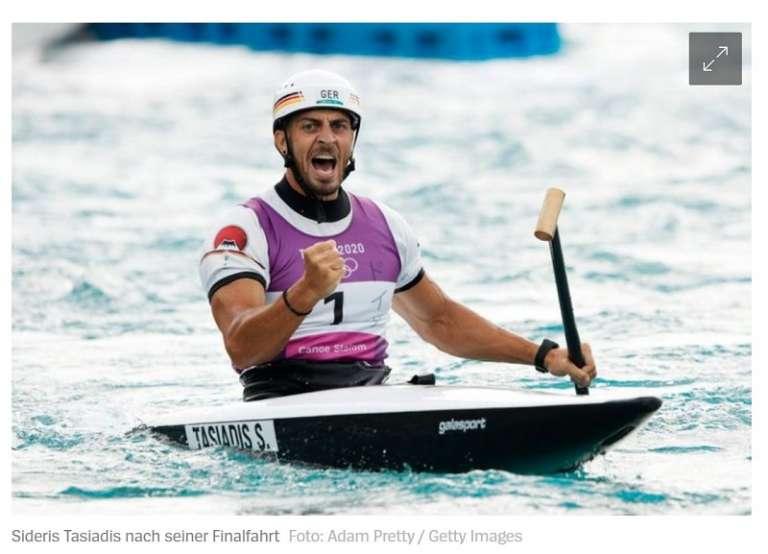 Ολυμπιακοί Αγώνες: Μετάλλιο για τον Σιδέρη Τασιάδη από την Θράκη!