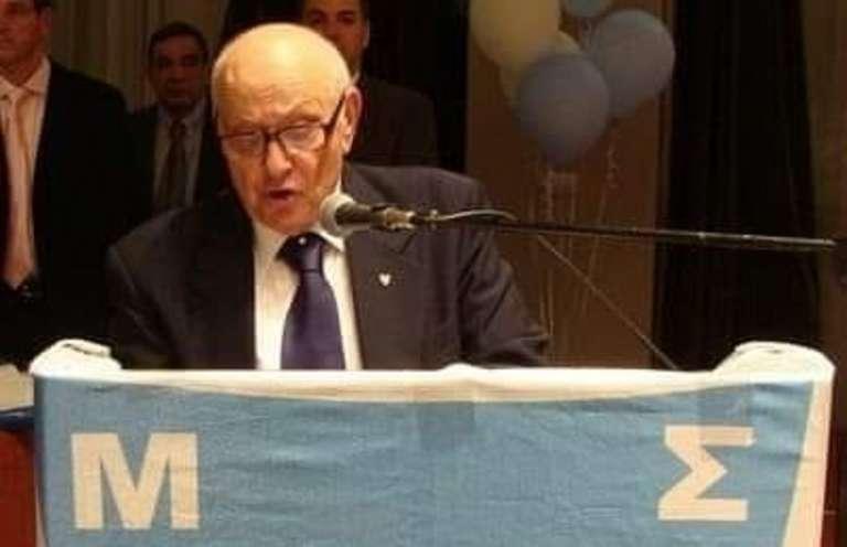 Έφυγε από την ζωή ο ιστορικός πρόεδρος του Εθνικού Χάρης Καρυωτάκης