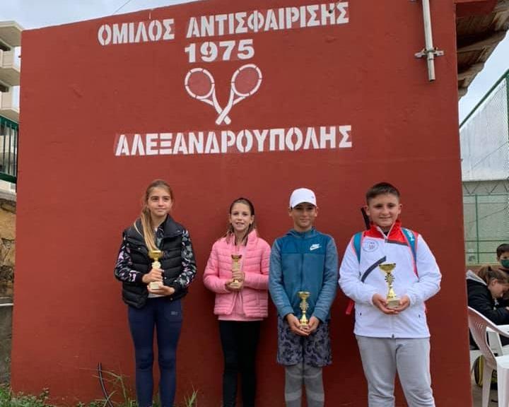 Με 1 πρωτιά για τον ΟΑΑ ολοκληρώθηκε το τουρνουά της Ε3 της ΑΜΘ για αγόρια & κορίτσια 10 και 14 ετών
